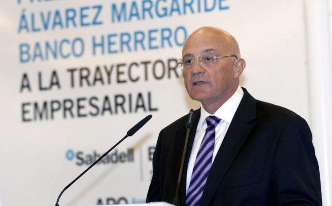 José Oliu, presidente de Sabadell.