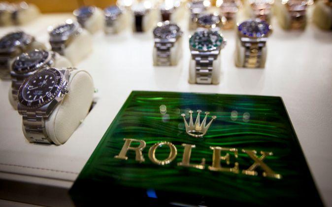 Relojes de Rolex.