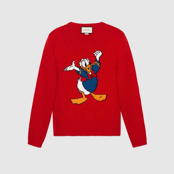 sitio de buena reputación f4e44 ec5ee Gucci se rinde al estilo del Pato Donald en una colección ...