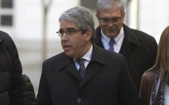 El diputado del PDeCAT Francesc Homs llegando al Tribunal Supremo....
