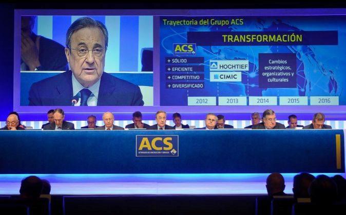 Imagen de la última junta de accionistas de ACS