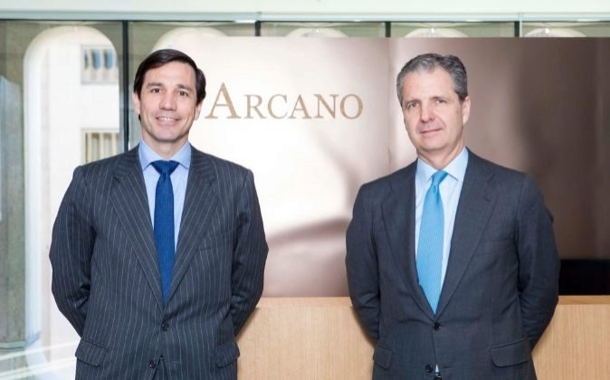 Álvaro de Remedios (izquierda) y Jaime Carvajal, presidente y...