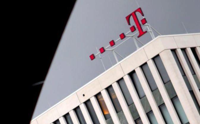 La sede de la compañía alemana de telecomunicaciones Deutsche...