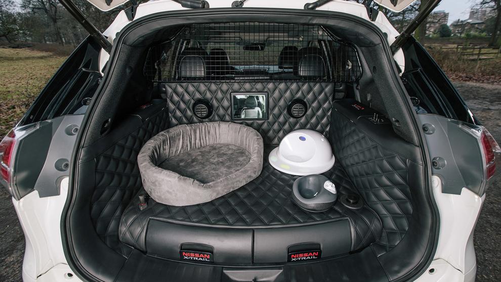 Nissan X-Trail 4Dogs, el crossover pensado para viajar con su mascota.