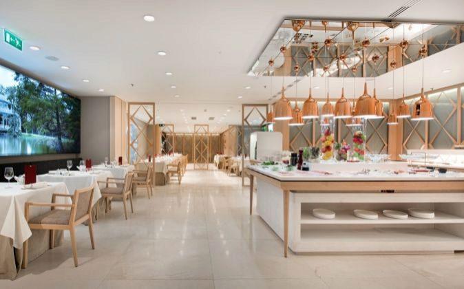Restaurante del Hotel NH Collection Eurobuilding.