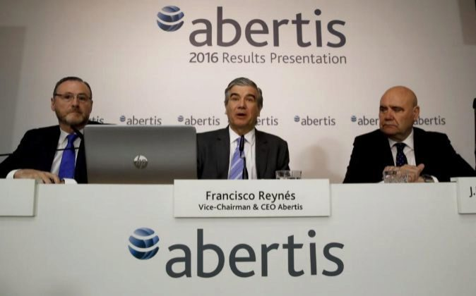 El vicepresidente y consejero delegado de Abertis, Francisco Reynés...