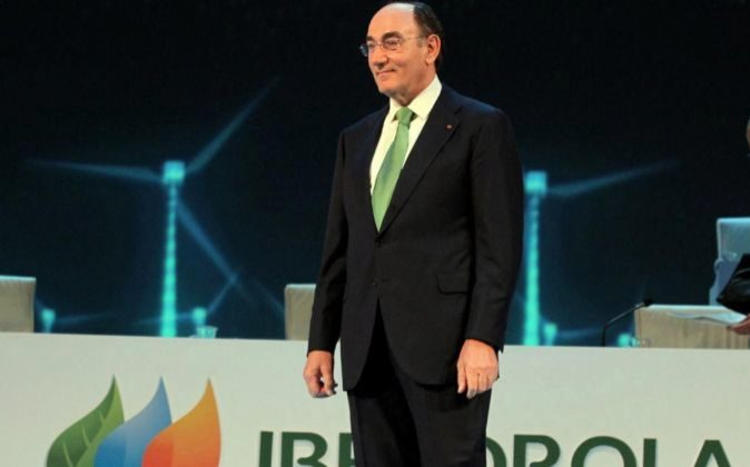Ignacio Sánchez Galán, presidente de Iberdrola, en la última junta...