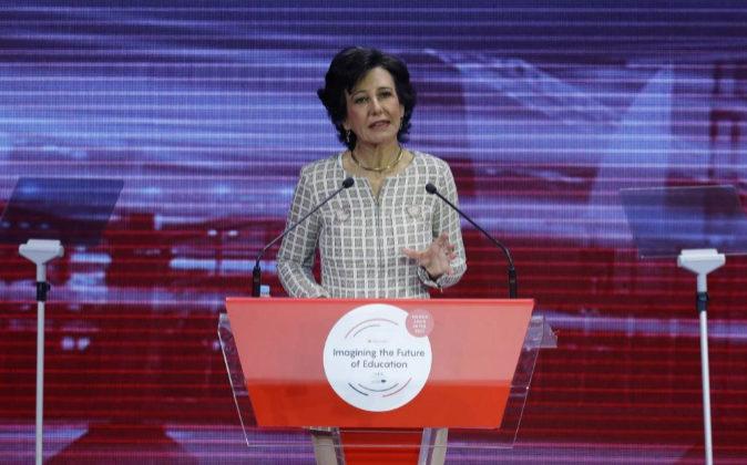 La presidenta del Grupo Santandar, Ana Botín.