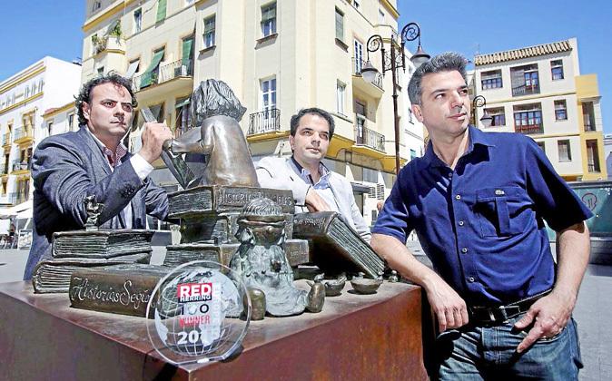 Chema García, Iván Parrilla y Enrique Parrilla, fundadores de la...