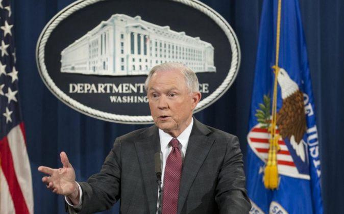 El fiscal general de Estados Unidos, Jeff Sessions.