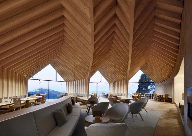 El refugio de montaña en madera 2.0