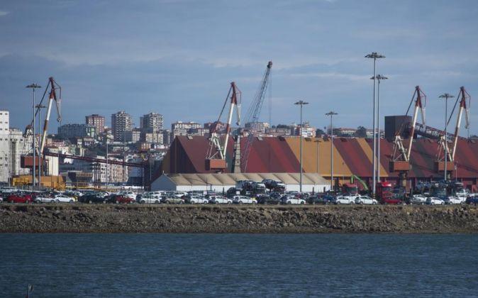 Vista del puerto de Santander que es uno de los que estará a partir...