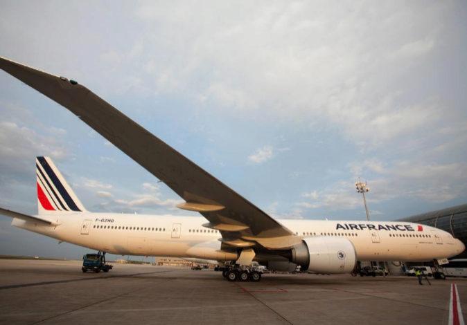 Un Boeing 777 300 de la compañía gala Air France, en una imagen de...
