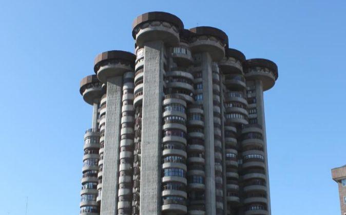 Torres Blancas (Madrid), de Francisco Javier Sáenz de Oteiza. Sus 81...