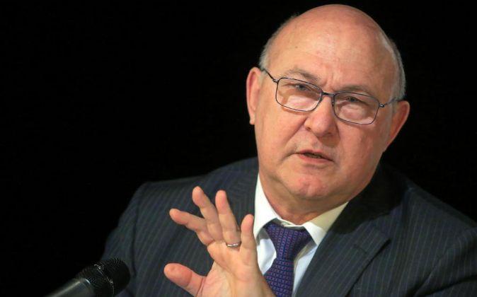 El ministro galo de Economía y Finanzas Michel Sapin.
