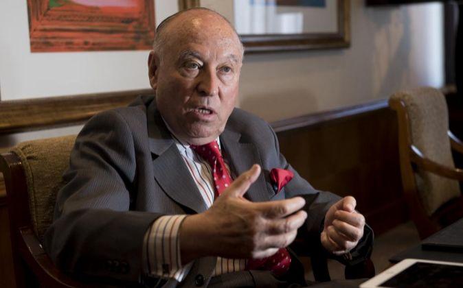 El presidente ejecutivo de CAF-Banco de Desarrollo de América Latina,...