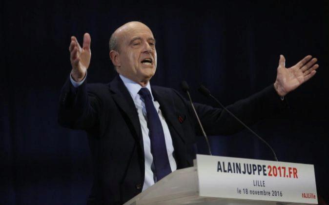 Alain Juppe, expresidente de Francia.