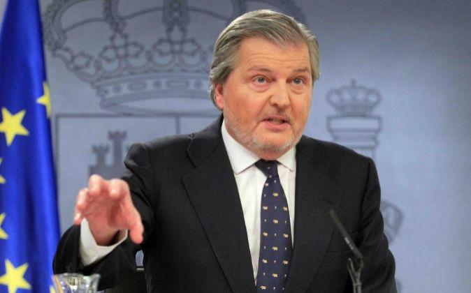 El ministro de Educación, Íñigo Méndez de Vigo.