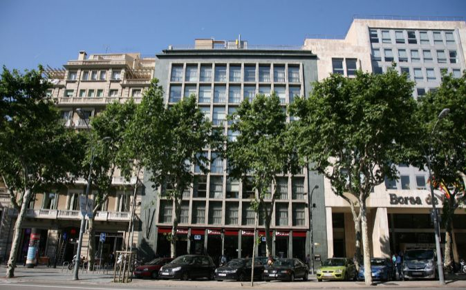 Sede de Banco Popular en Barcelona