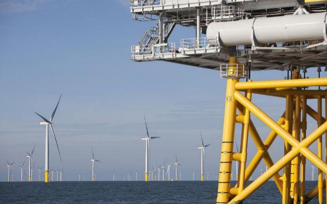 Aerogeneradores marinos de Scottish Power, filial de Iberdrola en...