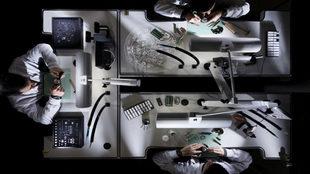 Vista del taller de grandes complicaciones,  uno de los secretos de la...