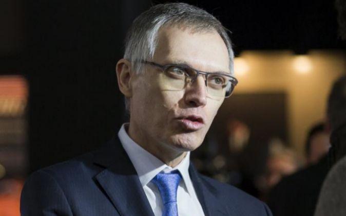 El presidente de PSA Peugeot Citröen, Carlos Tavares, en el Salón...