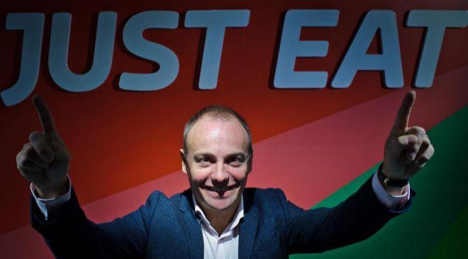 David Buttres, CEO de Just Eat.