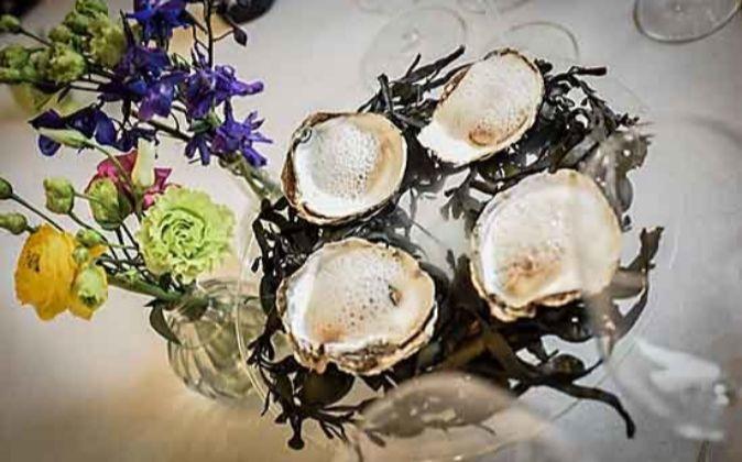 Las ostras de la empresa O Percebeiro, producto que cuenta con el...