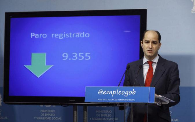 El secretario de Estado de Empleo, Juan Pablo Riesgo.