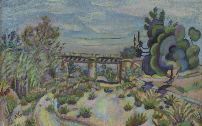 'Mont-Roig, le pont' (1917), de Joan Miró.