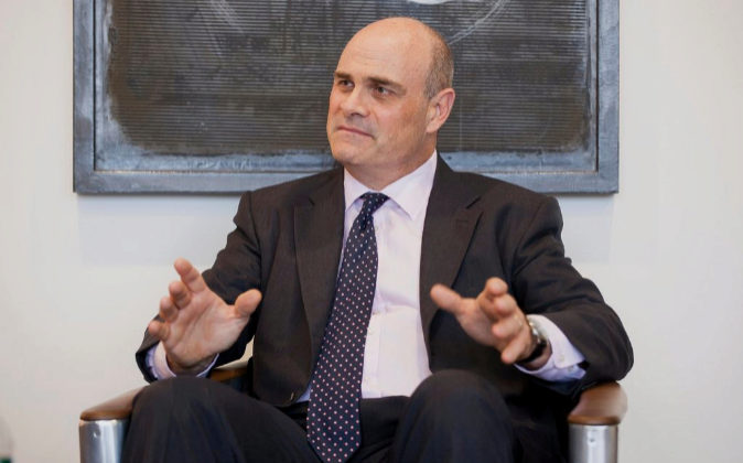 El CEO de la aseguradora estadounidense AIG, Peter Hancock.