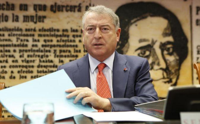 Jose Antonio Sanchez, presidente de RTVE.