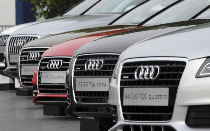 Coches de la marca Audi en Neckarsulm (Alemania).