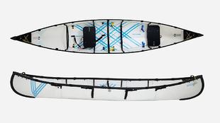 MyCanoe es una canoa plegable que pesa menos de 24 kilos y se reduce a...