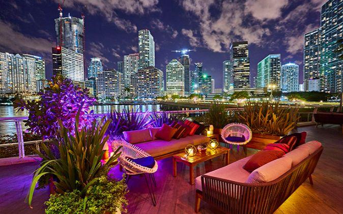 Las espectaculares vistas que ofrece el hotel Mandarin Oriental,...