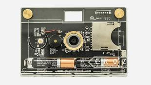 Imagen de la cámara digital creada por uno mismo a partir del kit de...