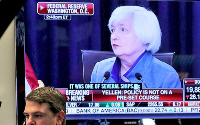 En la imagen, la presidenta de la Fed, Janet Yellen.