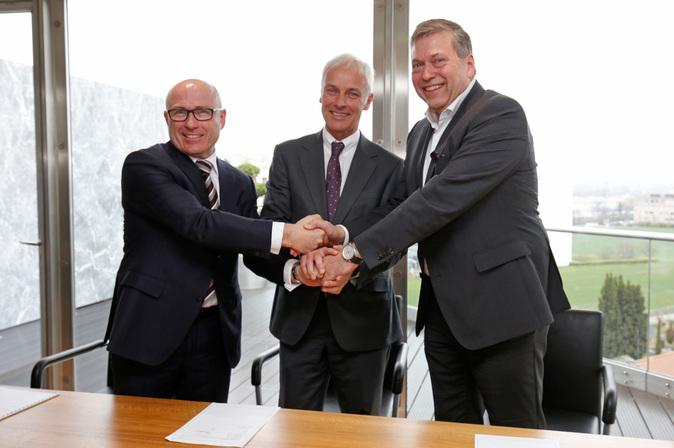 En la imagen: Bernhard Maier, consejero delegado de Skoda Auto;...
