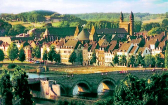 Vista de la ciudad de Maastricht.