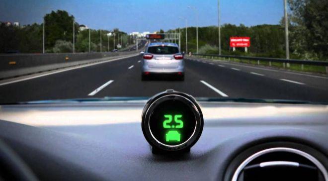Imagen de tecnología desarrollada por Mobileye.