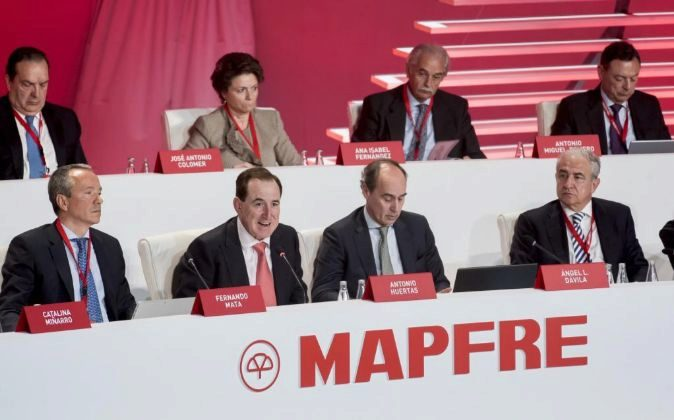 Junta de accionistas de Mapfre.