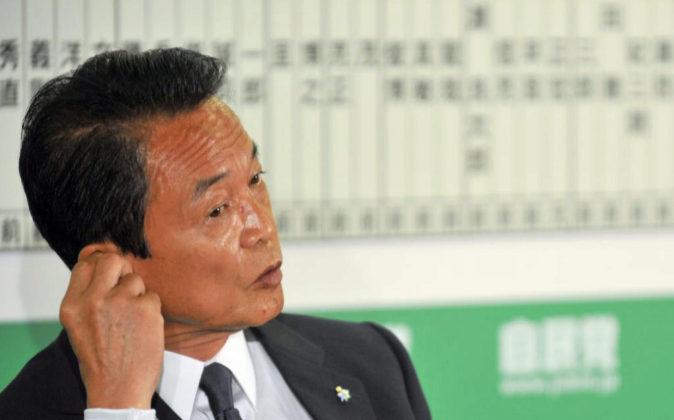 El ministro de Finanzas de Japón, Taro Aso en una imagen de archivo.