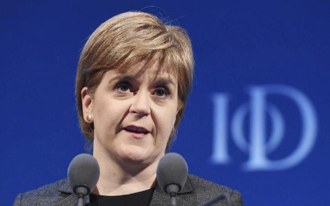 Nicola Sturgeon, ministra principal de Escocia, Nicola Sturgeon,...