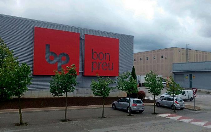 Centro logístico de Bon Preu en Balenyà (Osona)