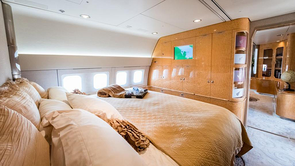 A bordo de un Boeing 767, los pasajeros sobrevolarán los cielos...