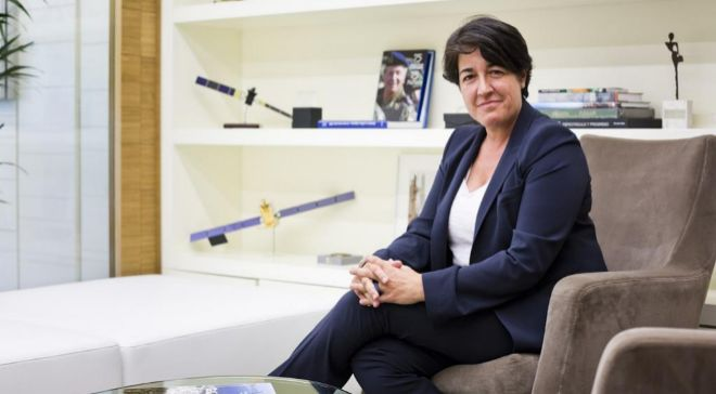 Elena Pisonero, presidenta de Hispasat, es la principal impulsora del...