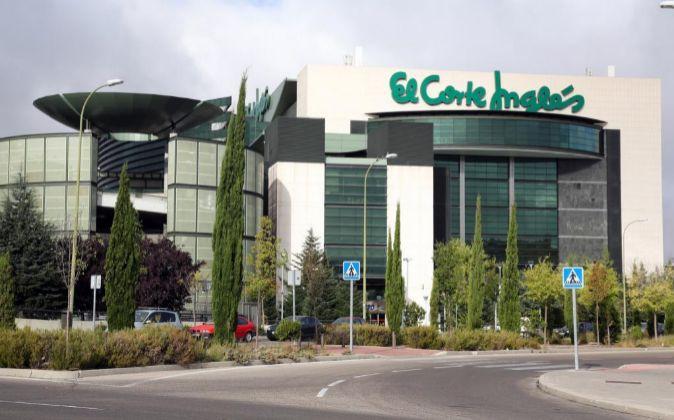 Imagen del centro comercial de El Corte Inglés en Sanchinarro...