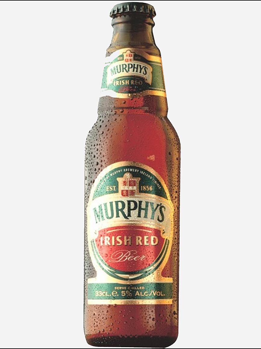 Origen: Cork. Tipo: Irish Red. 33 cl. Vol. alc.: 5º. PVP: 2,60 euros....