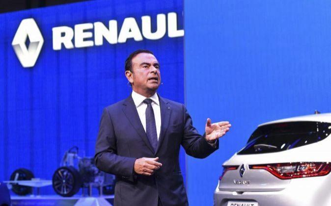El CEO de Renault, Carlos Ghosn.