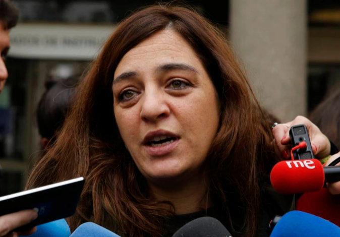 La exconcejala de Cultura del Ayuntamiento de Madrid, Celia Mayer, en...